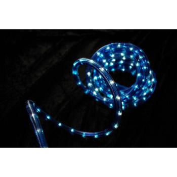 Světelný kabel venkovní / vnitřní s minižárovkami, 20 m, modrý