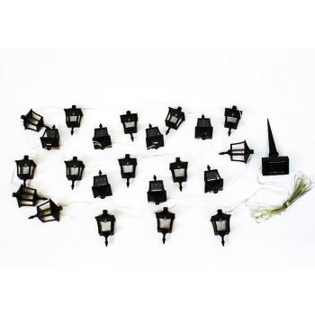 Solární osvětlení na zahradu - zapichovací lucerničky 24 ks