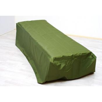 Ochranná plachta na zahradní lehátka, zelená, 200x70x40 cm