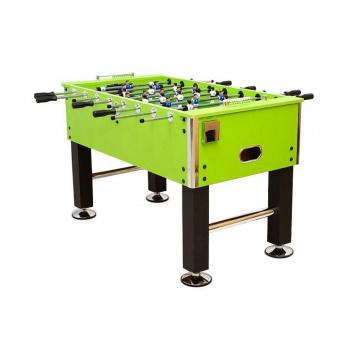 Profi stolní fotbal s příslušenstvím, zelený, 139,5x73,5x90,5 cm