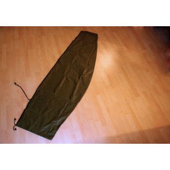 Ochranný obal na slunečník se zipem, zelený, slunečníky do 3 m