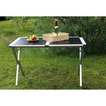 Kempinkový stolek s hliníkovou kostrou vč. přenosné tašky