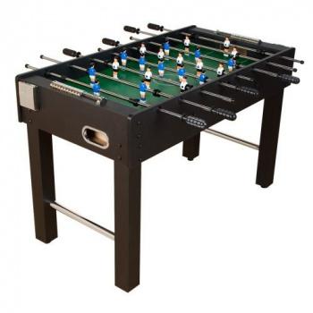 Menší stolní fotbal pro děti, výškově nastavitelné nohy, 121x101x79 cm