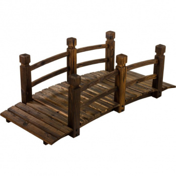 Dřevěný most na zahradu z masivu- borovicové dřevo