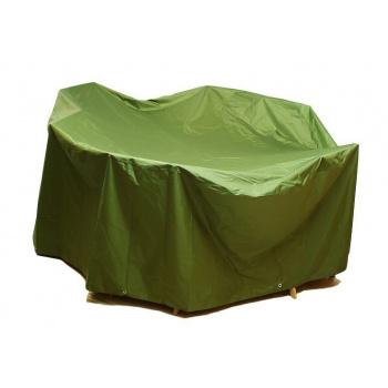 Plachta na zahradní nábytek zelená, okraje s oky,  350x250x96 cm