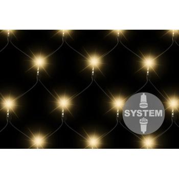 Vánoční výzdoba, diLED světelná síť - závěs venkovní / vnitřní 1x1,2 m