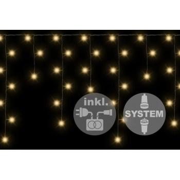 diLED světelný závěs - síť venkovní / vnitřní, 180 diod