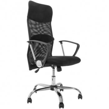 Elegantní otočná kancelářská židle, prodyšné mikrovlákno