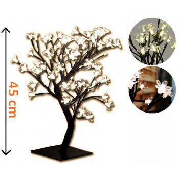 Okrasný strom se svítícími květy venkovní / vnitřní, 45 cm