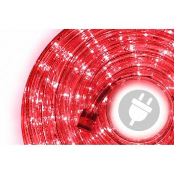 Voděodolný světelný kabel venkovní / vnitřní, červený, 20 m