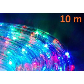 Voděodolný světelný kabel venkovní / vnitřní, barevný, 10 m
