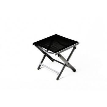 Cestovní skládací stolička s hliníkovým rámem