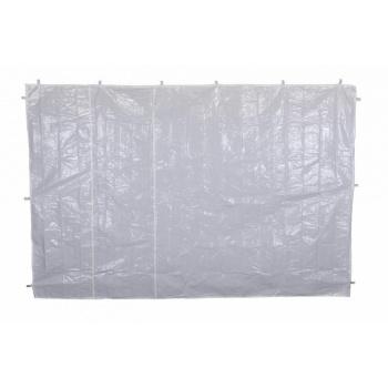 2 boční stěny bez oken pro zahradní párty stany, bílé
