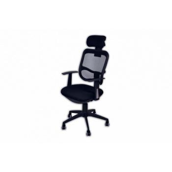 Moderní lehká kancelářská židle s prodyšným opěradlem