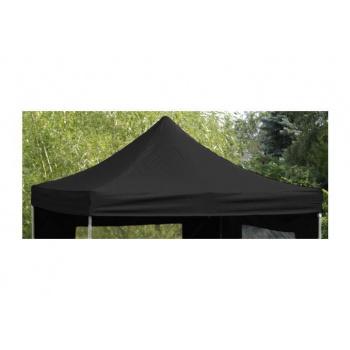 Samostatná střecha k zahradním párty stanům Profi 3x3 m, černá