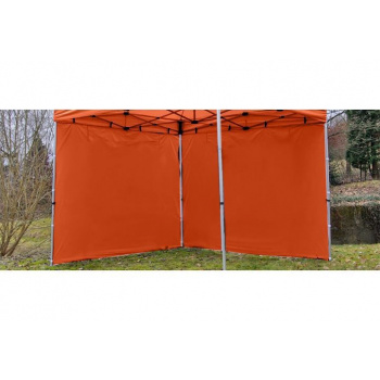 2 boční stěny bez oken pro Profi zahradní párty stany , terakota