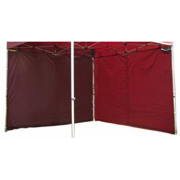 2 boční stěny bez oken pro Profi zahradní párty stany , vínová