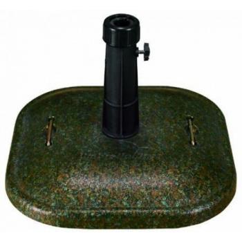 Stojan pro zahradní slunečníky, beton, 25 kg