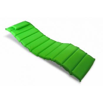 Luxusní pohodlné polstrování na relaxační lehátka, snímatelný potah, zelené