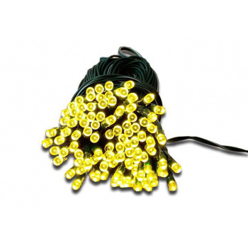 Venkovní světelná LED síť / závěs se solárním nabíjením 3x3 m