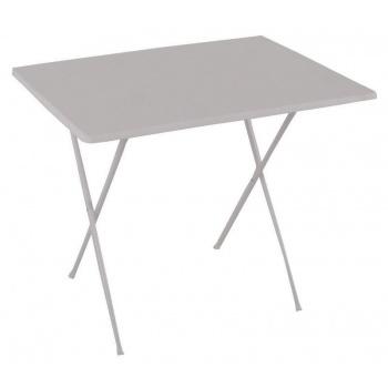 Skládací kempovací stůl, horní deska ze sevelitu