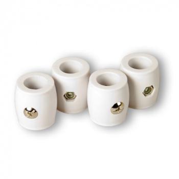 4 ks plastový doraz pro tyč brakáře ke stolnímu fotbalu, na tyče 15,9 mm