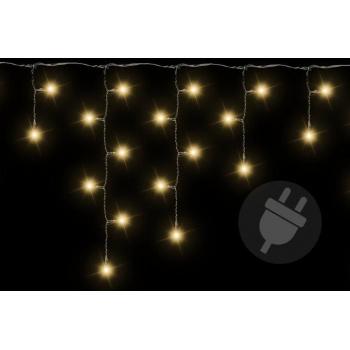 Vánoční řetěz - světelný déšť venkovní / vnitřní, 200 LED diod, 4 m