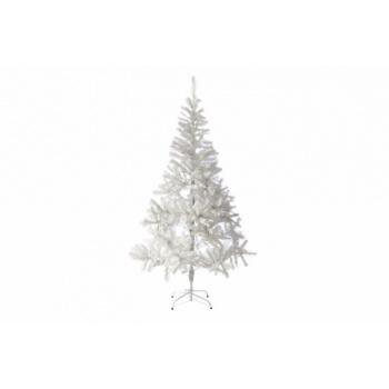Umělý vánoční strom se zasněženým efektem - bílý, vč. podstavce, 1,8 m