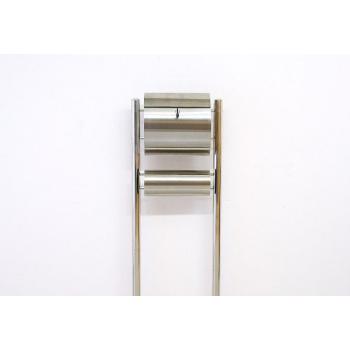 Stojanová poštovní schránka pro domy / firmy, nerezová, 146 cm