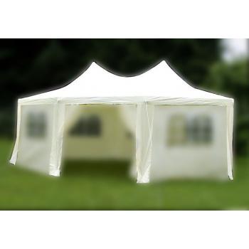Samostatná střecha k zahradním párty stanům 6x4,4x3,3 m, krémová
