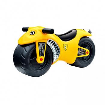 Dětské odrážedlo - motorka, žlutá, od 12 měsíců