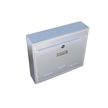 Nástěnná poštovní schránka na dopisy a noviny, 31x36x9 cm, bílá