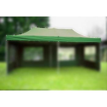 Samostatná střecha k zahradním párty stanům 3x6 m, zelená