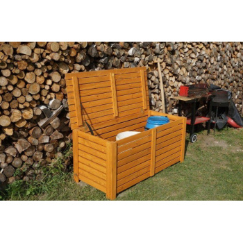 Venkovní úložný box dřevěný 125 cm, impregnovaná borovice