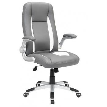 Elegantní kancelářská otočná židle s područkami, nastavitelná