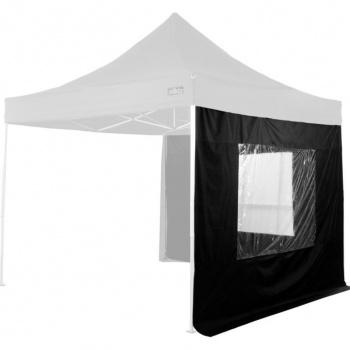 2 boční stěny s okny pro zahradní párty stany Stilista, černé