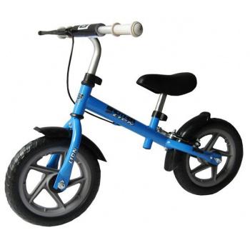 Dětské odrážedlo s kovovým rámem, pneu 12, modré