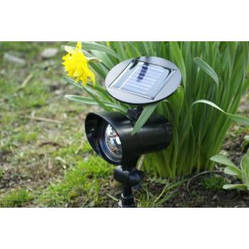 Zahradní reflektor se solárním napájením, 3 LED diody