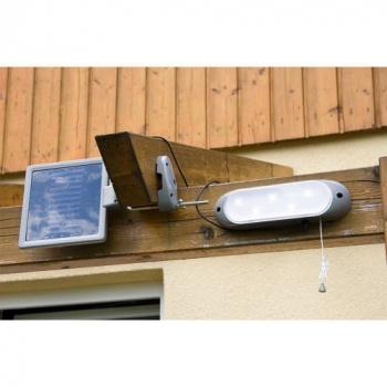 Venkovní LED světlo se solárním panelem, 5 diod
