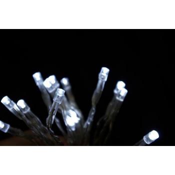 Vánoční osvětlení do bytu- vnitřní, na baterie, 30 LED,  4,5 m