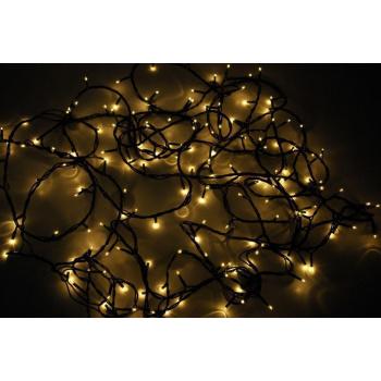 Vánoční svítící řetěz venkovní / vnitřní, 180 světélek, 9 m