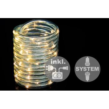 Světelný kabel diLED vč. trafa venkovní / vnitřní, 60 LED diod, 5 m