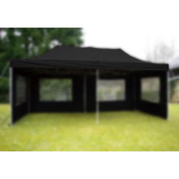 Samostatná střecha k zahradnímu párty stanu 3x6 m, černá