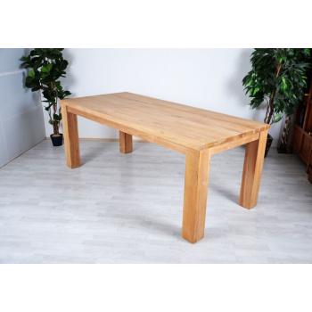 Masivní dřevěný stůl 180 cm, teakové dřevo, 63 kg