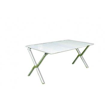 Skládací kempinkový stůl v tašce 140 cm, hliníkový