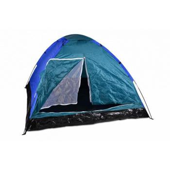 Lehký stan, vodní sloupec 300 mm, černá / tyrkysová / modrá