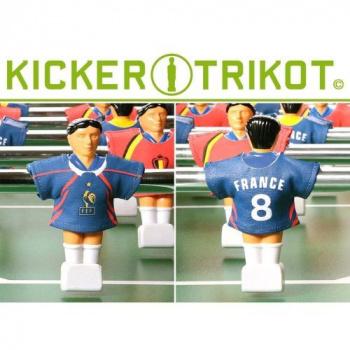 11 ks náhradní dresy pro figurky stolního fotbalu, Francie