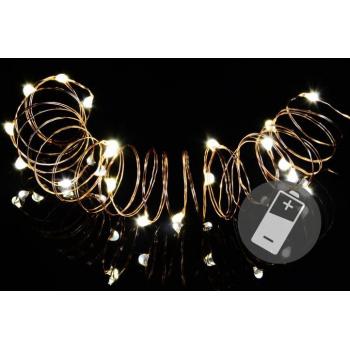 4 ks mini světelný řetěz na baterie, vnitřní