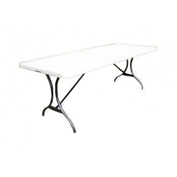 Zahradní skládací stůl, 244 cm