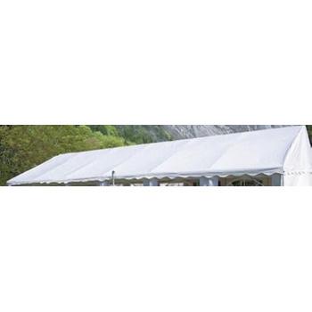 Střecha k zahradním stanům a altánům 4x6 m, bílá